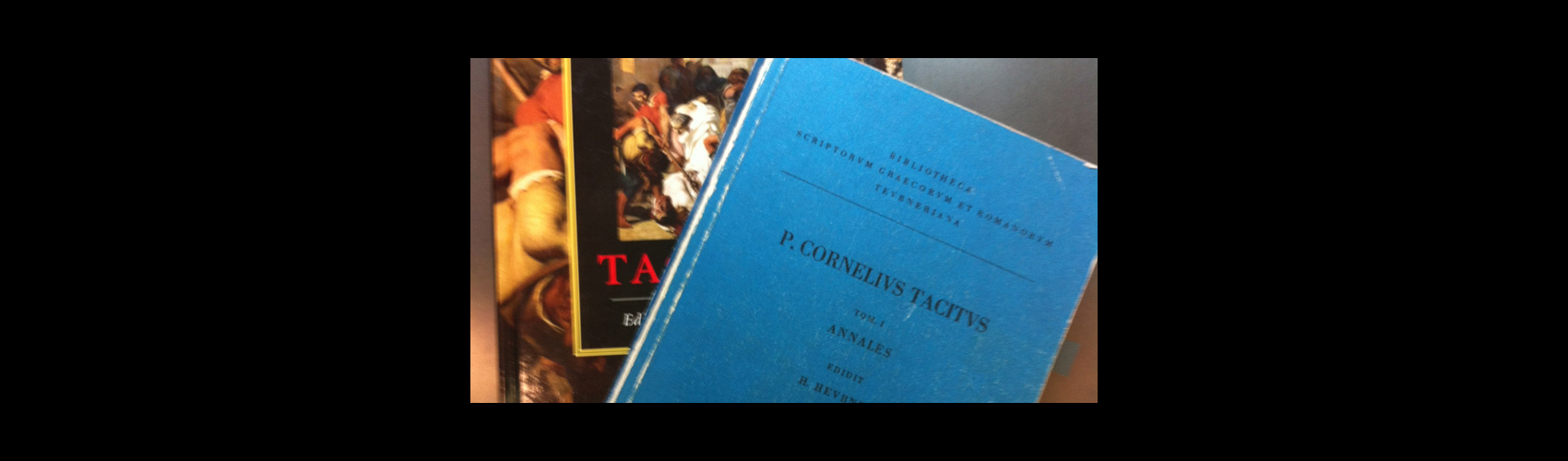 Two Tacitus books