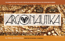 poster for Argonautika by Mary Zimmerman