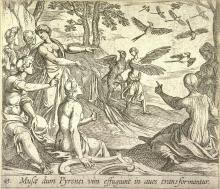 illustration of Ovid's Metamorphoses