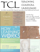Coverage of Teaching Classical Languages