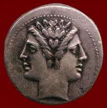 Coin of double-headed god Janus (Vienna)