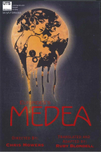 poster for Undergraduate theater society presents Medea