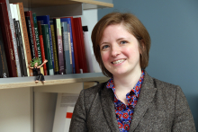 Photo portrait of Professor Kate Topper