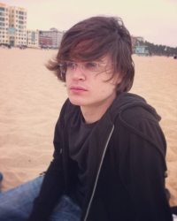 Konnor Clark at Santa Monica beach