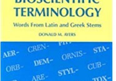 Bioscientific Vocabulary Building