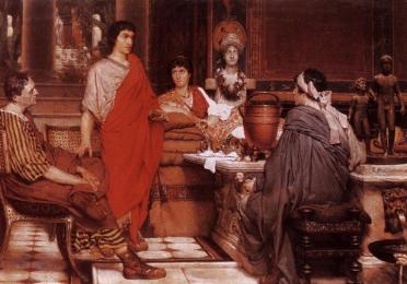 Alma Tadema-Catullus and Lesbia