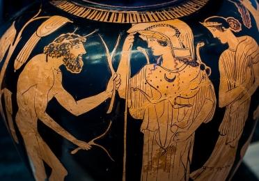 Greek vase detail