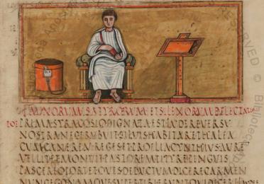 Roman Virgil Folio 14R