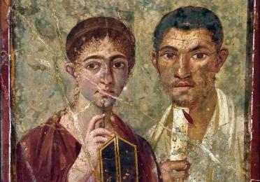 A Pompeian couple