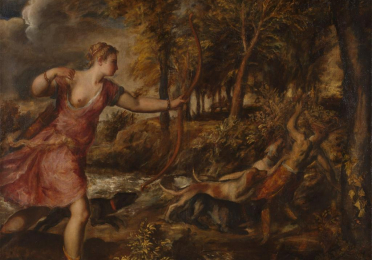 Titian: The Death of Actaeon