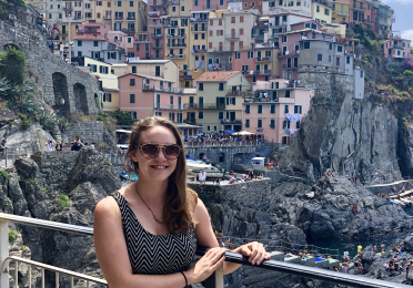photo of Lauryn in Cinque Terre National Park in Liguria, Italy