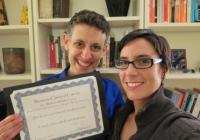 Sarah Levin-Richardson and Deborah Kamen