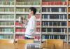 Alan Chen reorganizes the Classics Seminar room Collection