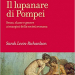 book cover of Il lupanare di Pompeii, including erotic painting from Pompeii